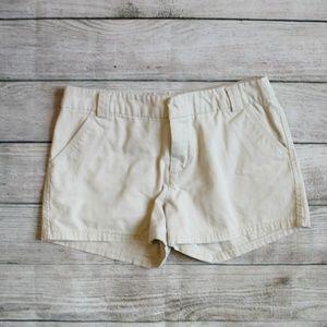 Merona Cream Tan Khaki Short Chino Shorts 4